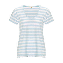 Buy Jigsaw Lurex Stripe T-shirt Online at johnlewis.com