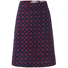 Buy White Stuff Selvedge Reversible Skirt, Onyx Blue Online at johnlewis.com