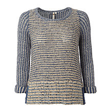 Buy White Stuff Textured Jumper, Natural Online at johnlewis.com