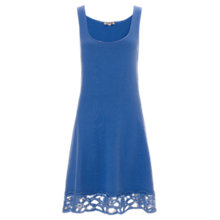Buy Jigsaw Lace Hem Skater Dress Online at johnlewis.com