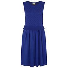 Buy NW3 By Hobbs Effie Dress, Rain Blue Online at johnlewis.com