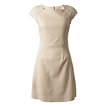 Buy Almari Button Back Dress, Beige Online at johnlewis.com