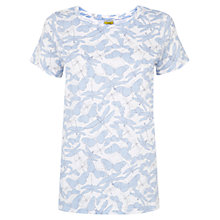 Buy NW3 By Hobbs Criss Dragonfly T-Shirt, White Multi Online at johnlewis.com
