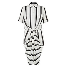 Buy Hobbs Amaya Monochrome Dress, Ivory Online at johnlewis.com