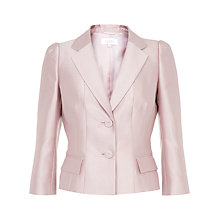 Buy Hobbs Invitation Bella Jacket, Light Pink Online at johnlewis.com