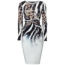 Buy Rise Pippa Knot Front Detail Dress, Multi Online at johnlewis.com