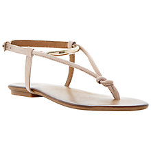 Buy Dune Jasyz Leather Flat Sandals Online at johnlewis.com