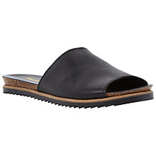 Buy Duna Java Flat Leather Slip On Sandals Online at johnlewis.com