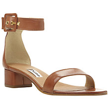 Buy Dune Fran Two Part Block Heel Sandals Online at johnlewis.com