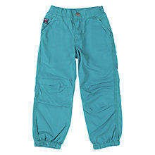 Buy Polarn O. Pyret Cargo Trousers, Teal Online at johnlewis.com