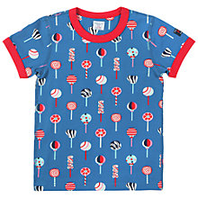 Buy Polarn O. Pyret Candy Print T-Shirt Online at johnlewis.com