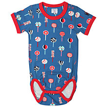 Buy Polarn O. Pyret Baby Candy Print Bodysuit Online at johnlewis.com