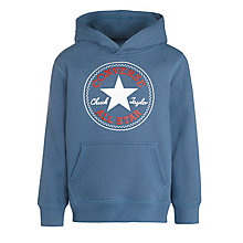 Buy Converse Boys' Star Hoody, Blue Online at johnlewis.com