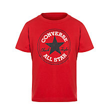 Buy Converse Boys' Chuck Taylor Logo T-Shirt Online at johnlewis.com