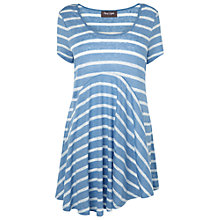 Buy Phase Eight Harriet Striped Top, Ivory/Cornflower Online at johnlewis.com