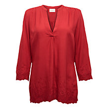 Buy East Swirl Tunic, Pillarbox Red Online at johnlewis.com