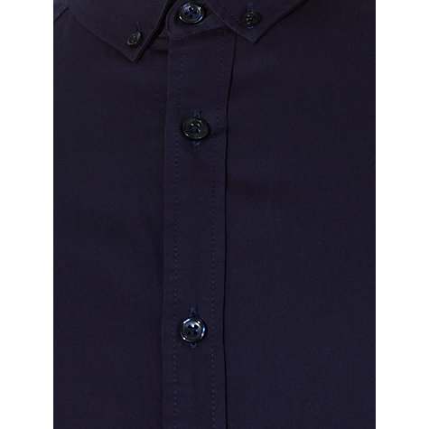 Buy Kin by John Lewis Button Down Poplin Shirt, Navy Online at johnlewis.com