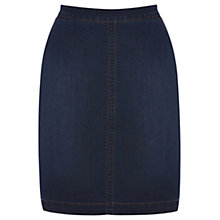 Buy Oasis Phoebe Skirt, Denim Online at johnlewis.com