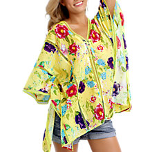 Buy Seafolly Paradiso Keira Kaftan, Multi Online at johnlewis.com