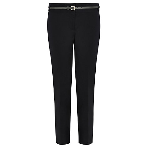 Buy Warehouse Cotton Sateen Trousers Online at johnlewis.com