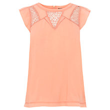 Buy Warehouse Pretty Lace Top Online at johnlewis.com