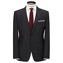 Buy John Lewis Tailored Wool Flannel Suit Jacket, Grey Online at johnlewis.com