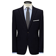 Buy John Lewis Tailored Wool Flannel Suit Jacket, Navy Online at johnlewis.com
