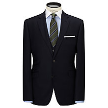Buy John Lewis Milled Tonal Stripe Tailored Suit Jacket, Navy Online at johnlewis.com