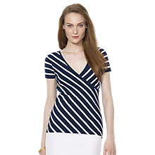 Buy Lauren Ralph Lauren Joanna Faux Wrap, Multi Online at johnlewis.com