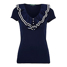 Buy Lauren Ralph Lauren Cotton Top Online at johnlewis.com