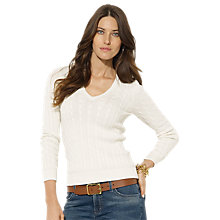 Buy Lauren Ralph Lauren Breanne Sweater, Modern Cream Online at johnlewis.com