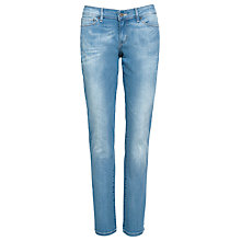 Buy Levi's Modern Rise Demi Curve Straight Jeans, Electric Land Online at johnlewis.com