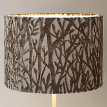 Buy Voyage Velvet Trees Lampshade Online at johnlewis.com