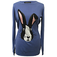 Buy Sugarhill Boutique Curious Bunny Sweater, Blue Online at johnlewis.com