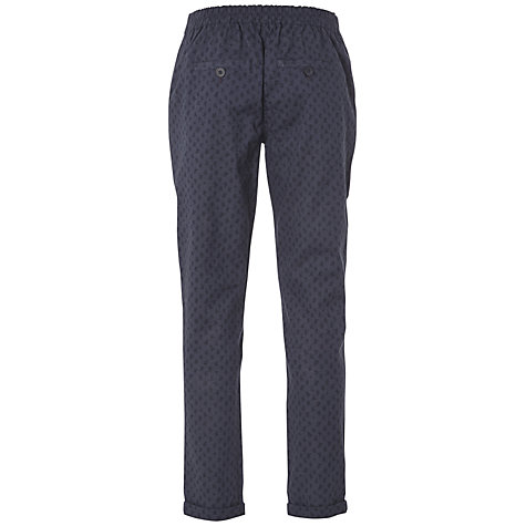 Buy White Stuff Collage Printed Trousers, Indigo Online at johnlewis.com