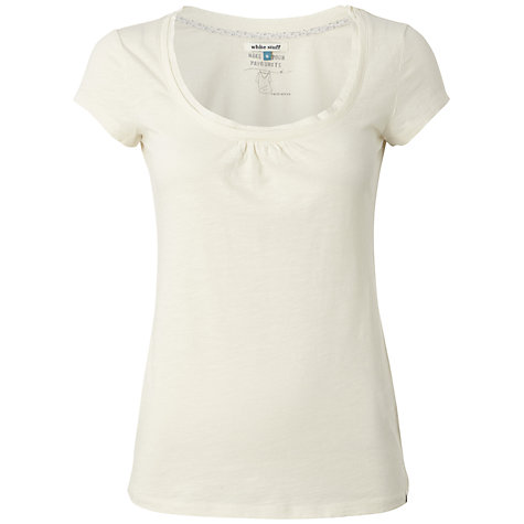 Buy White Stuff Short Sleeve Lana T-Shirt Online at johnlewis.com