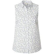 Buy White Stuff Grand Slam Sleeveless Shirt, White Online at johnlewis.com