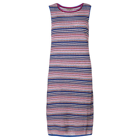Buy Jigsaw Stripe Dress, Blue Online at johnlewis.com