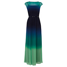 Buy Coast Lea Printed Maxi Dress, Green Online at johnlewis.com