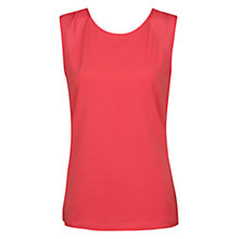 Buy Mango Chiffon Panel Sleeveless Top Online at johnlewis.com