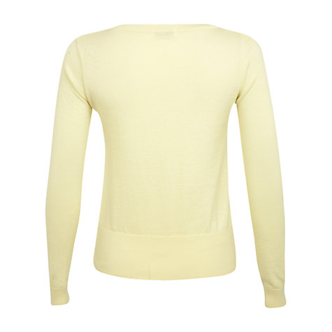 Buy Miss Selfridge Happy Jumper, Yellow Online at johnlewis.com