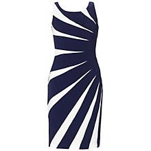 Buy Adrianna Papell Sideburst Dress, Mood Indigo Online at johnlewis.com