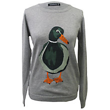 Buy Sugarhill Boutique Duckie Sweater, Grey Marl Online at johnlewis.com