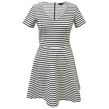 Buy Sugarhill Boutique City Stripe Dress, White Online at johnlewis.com