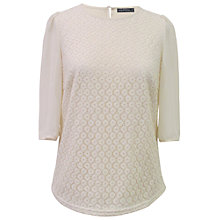Buy Sugarhill Boutique Summer Lace Blouse, Cream Online at johnlewis.com