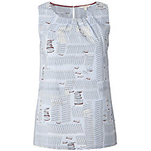 Buy White Stuff Henley Boat Top, Crisp Blue Online at johnlewis.com