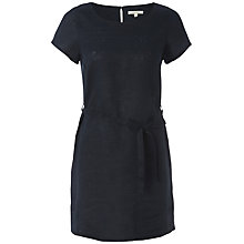 Buy White Stuff Lenglen Linen Tunic, Dark Regatta Online at johnlewis.com