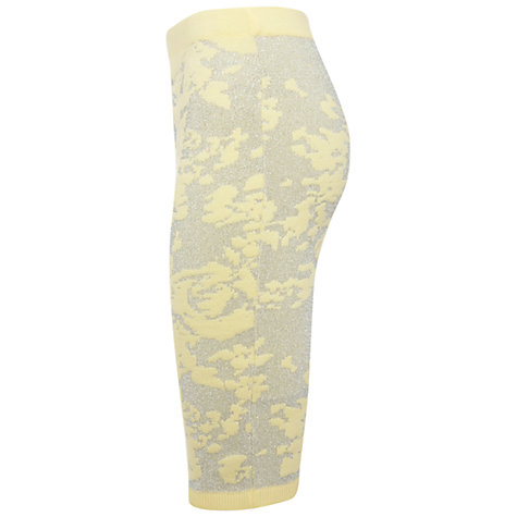 Buy Miss Selfridge Knitted Pencil Skirt, Yellow Online at johnlewis.com