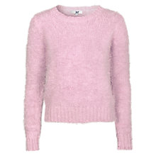 Buy True Decadence Long Soft Touch Jumper, Light Pink Online at johnlewis.com