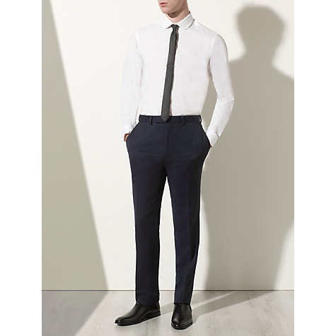 Buy Kin by John Lewis Skola Shirt, Tie and Bar Set, White/Black Online at johnlewis.com
